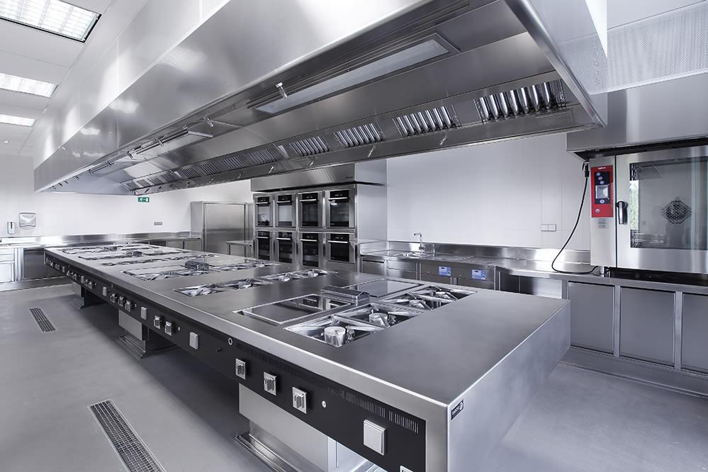 campana extractora cocina industrial